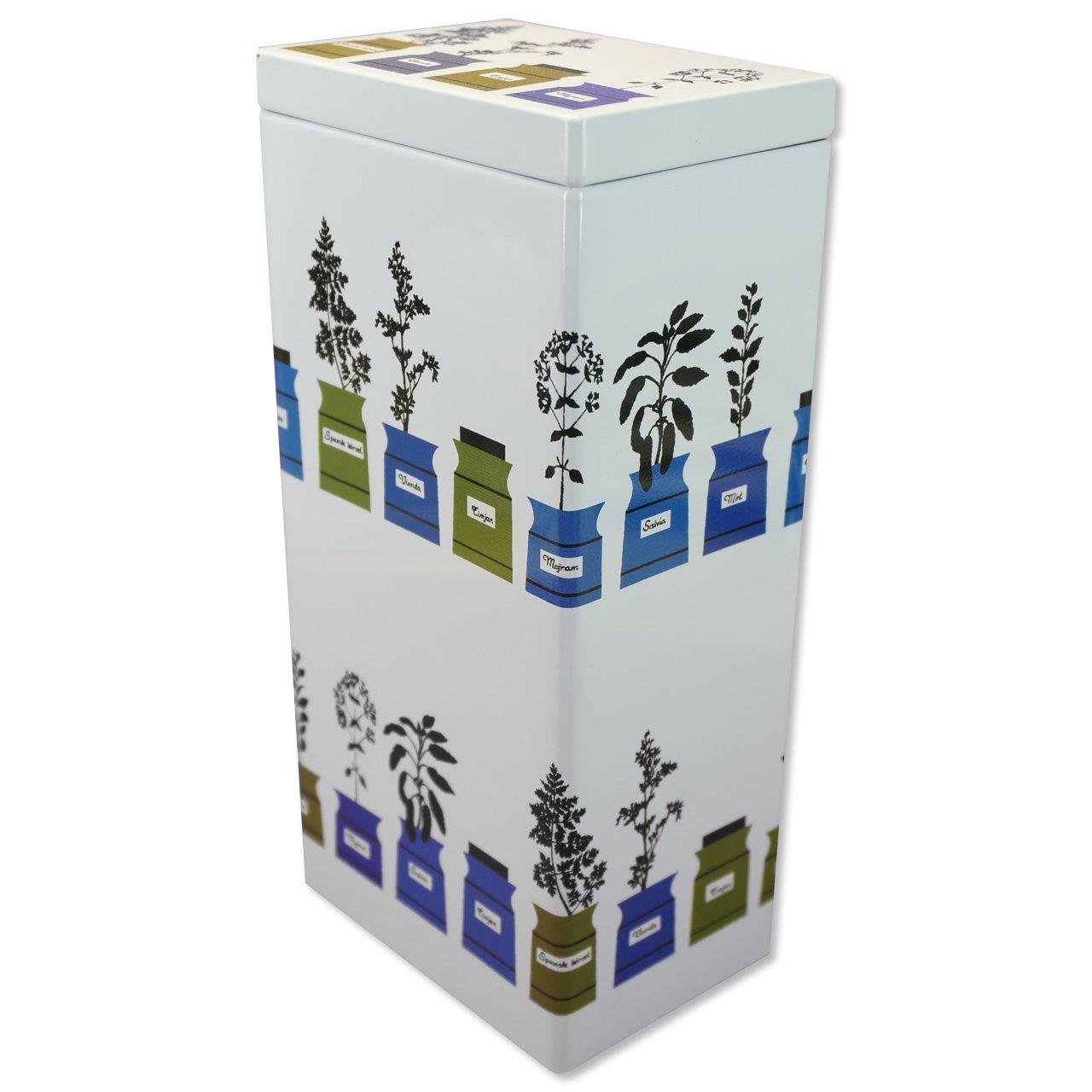 コーヒー・紅茶缶L Persons kryddskåp 10.2×7.3×21.1cm
