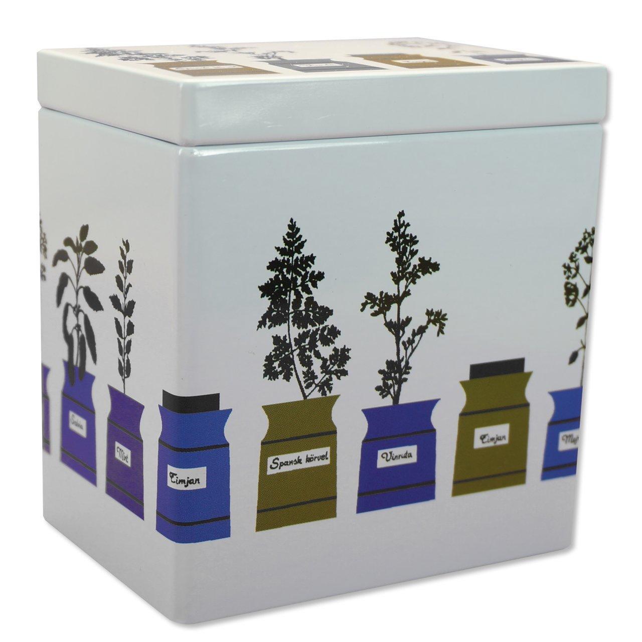 コーヒー・紅茶缶S Persons kryddskåp 10.2×7.3×11.0cm