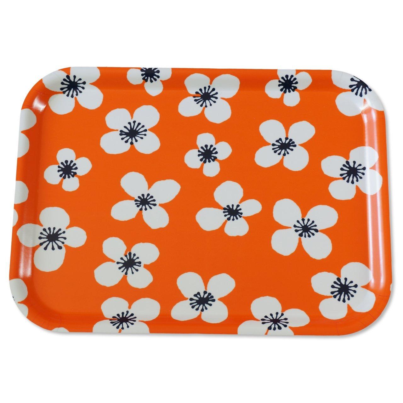 トレイS Belle Amie オレンジ 27×20cm