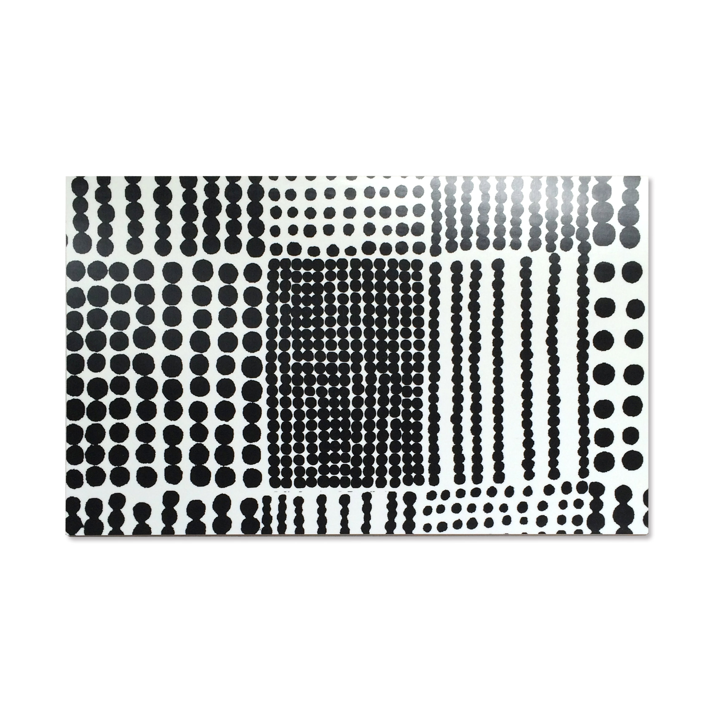 廃盤★中敷きプレートL Pricktyg(ブラック) 550×355mm