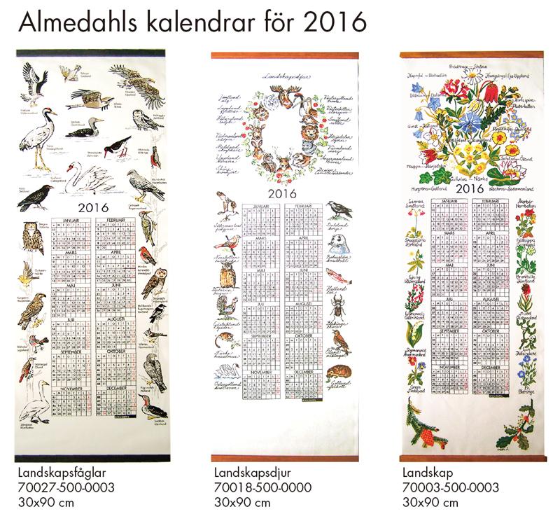 2016年版-almedahlsカレンダー