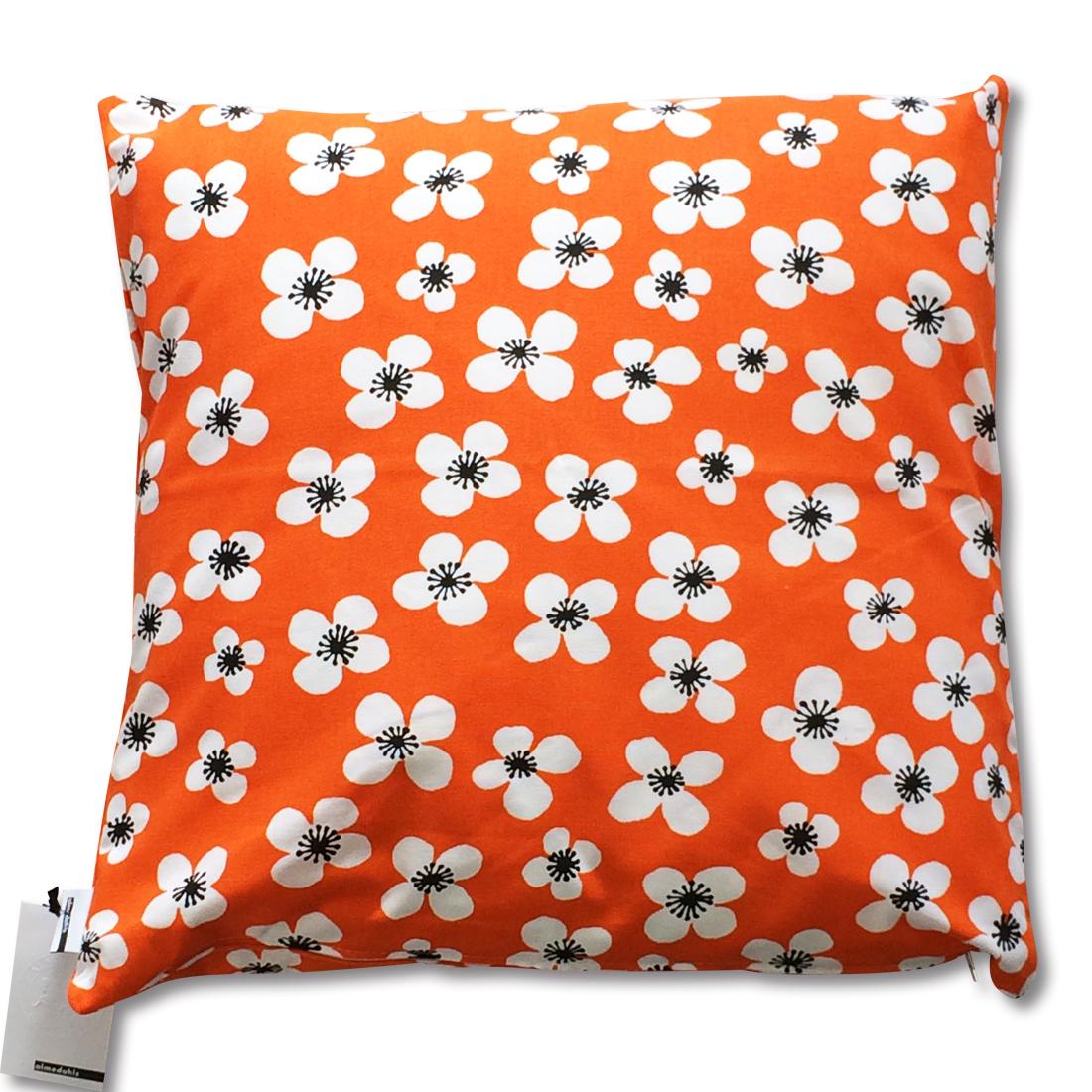 クッション Belle Amie オレンジ 約45×45cm