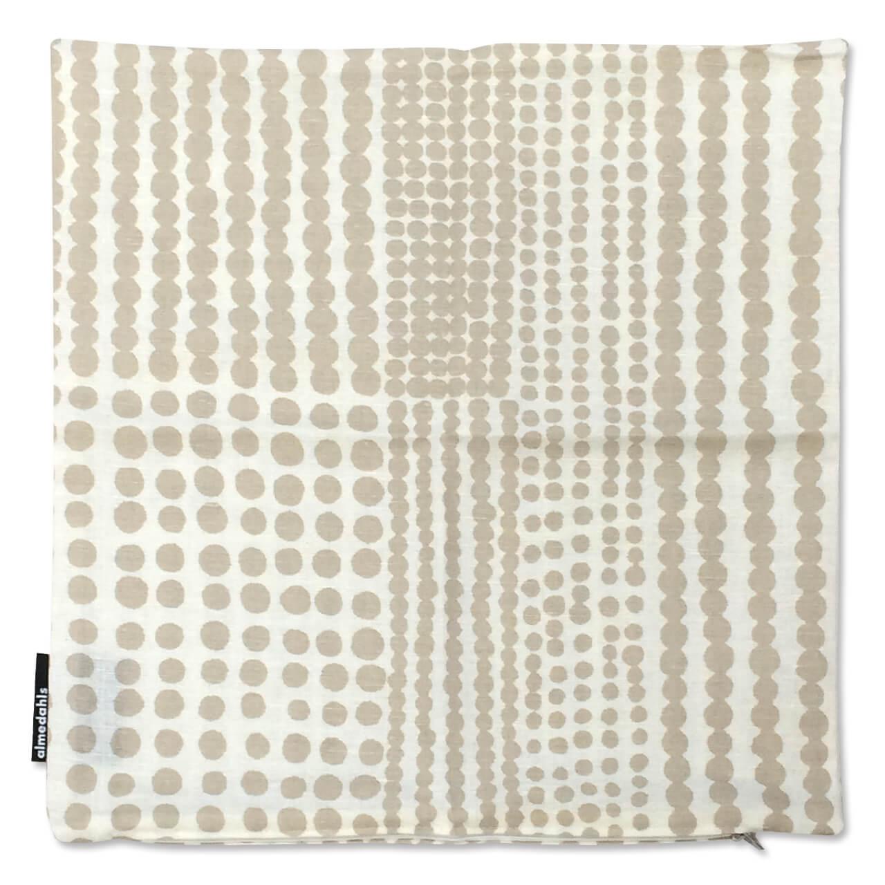 クッションカバー Pricktyg ベージュ 約45×45cm
