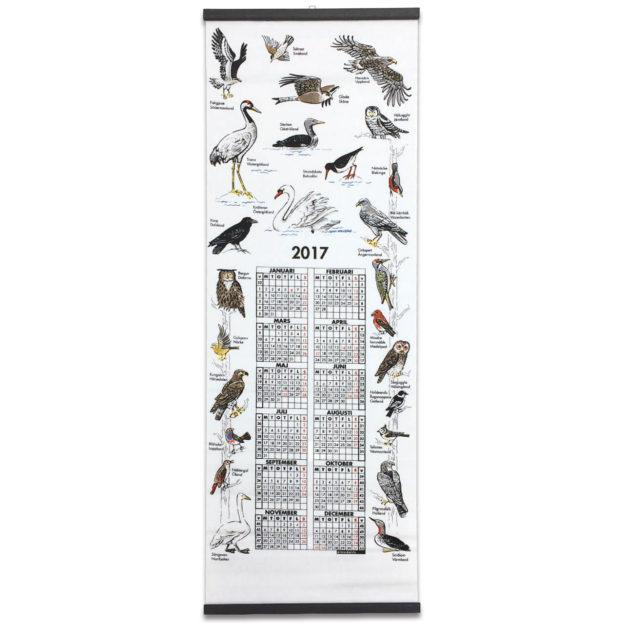 70027-Landskapsfaglar-カレンダー鳥