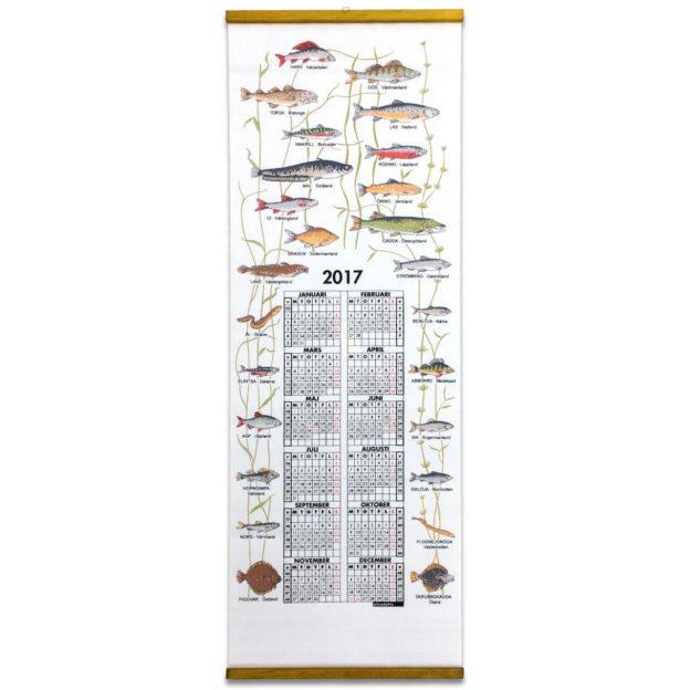 70020-Landskapsfiskar-カレンダー魚