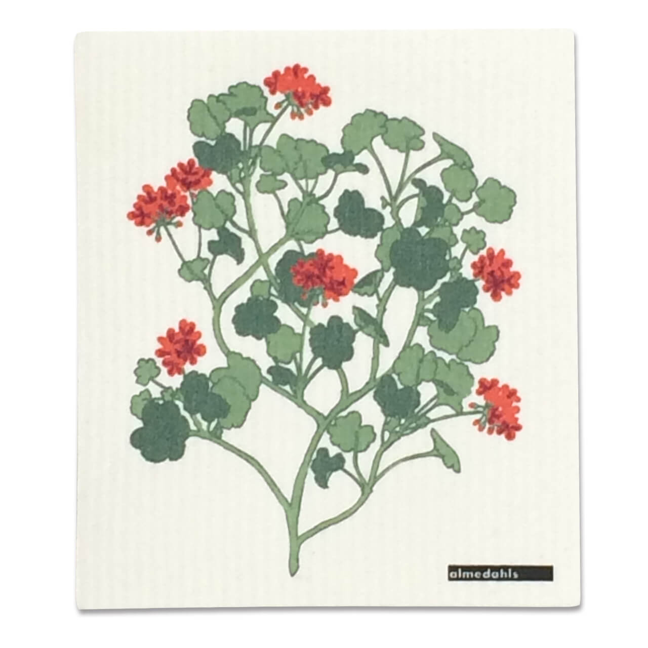 ディッシュクロス Pelargonia 18×20cm