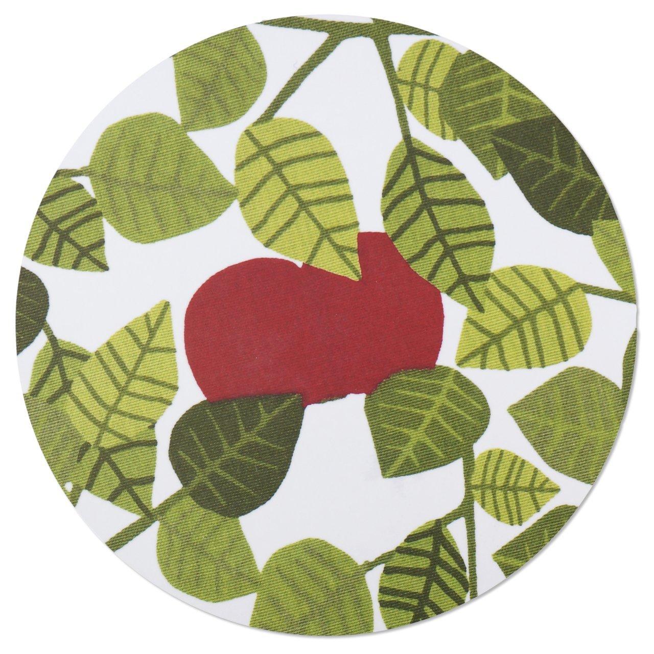 ポットスタンド Apple グリーン 直径21cm