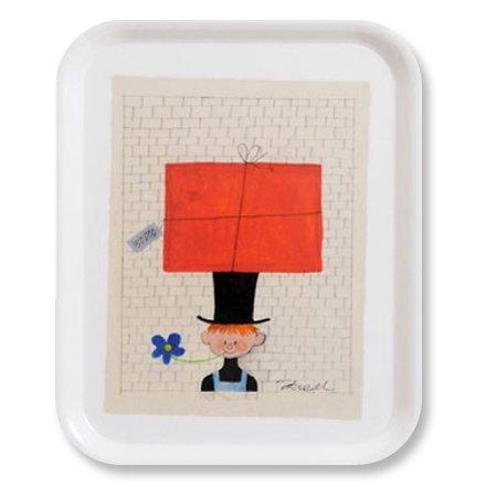 廃盤★トレイS Pojken med paket 27×20cm