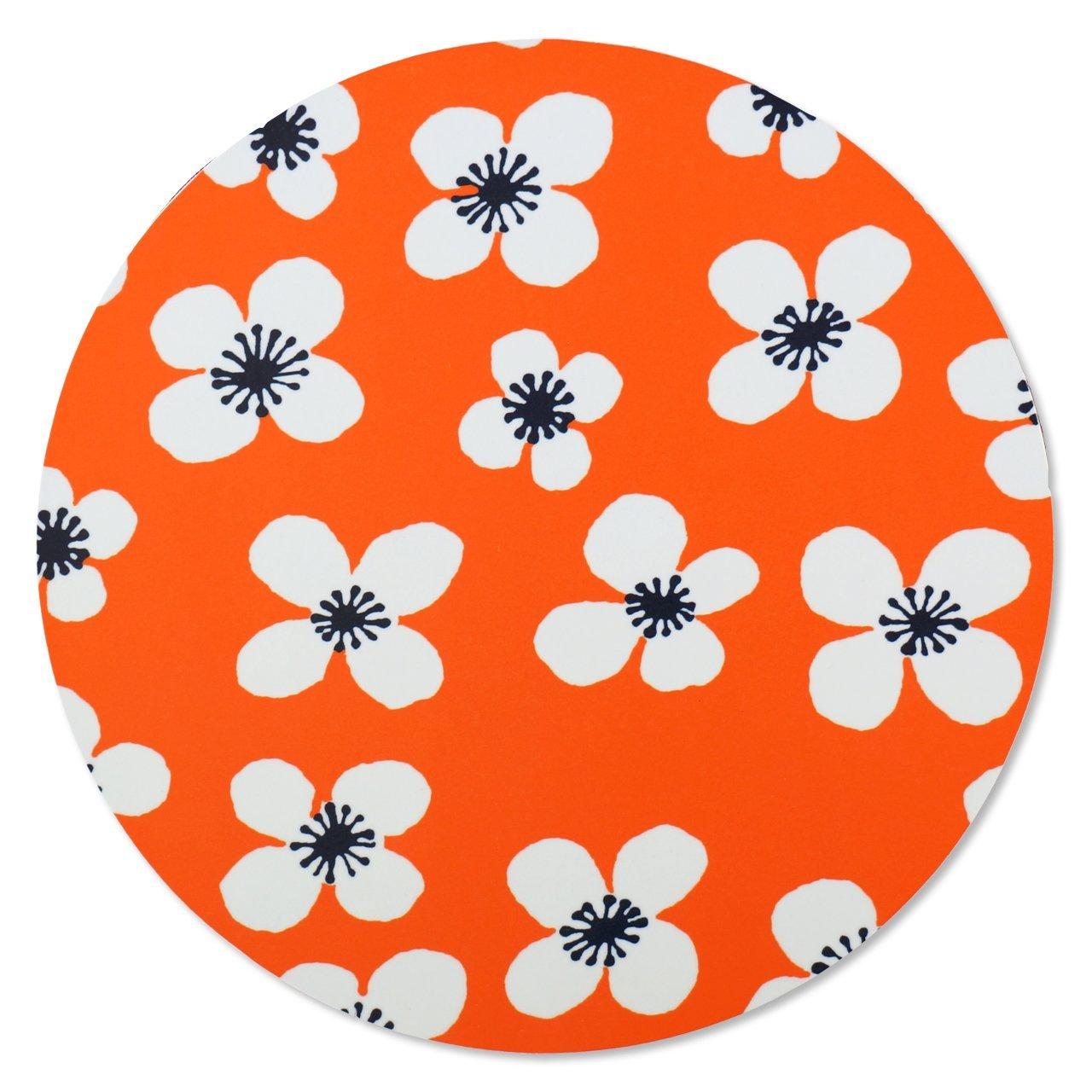 ポットスタンド Belle Amie オレンジ 直径21cm