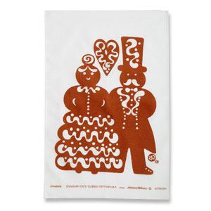 ティータオル Gumman & Gubben pepparkaka