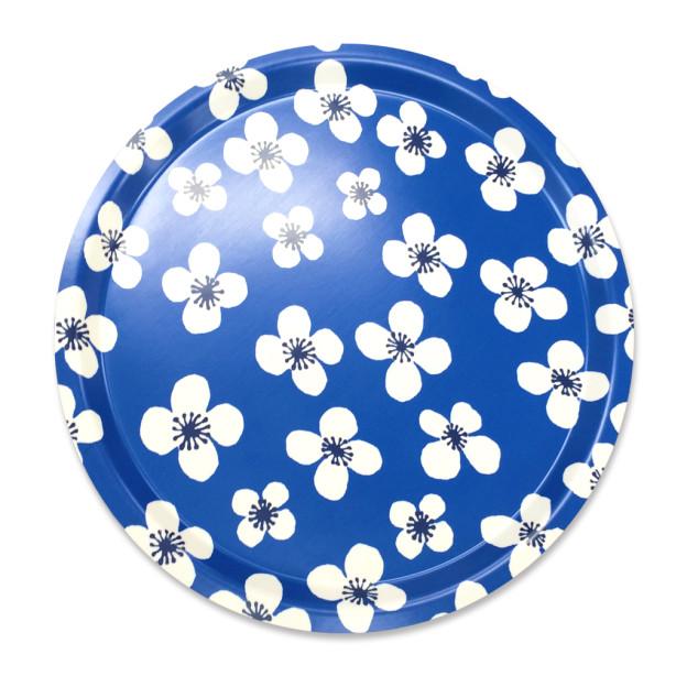 70656000-BellAmie-トレイ-ラウンド31cmブルー