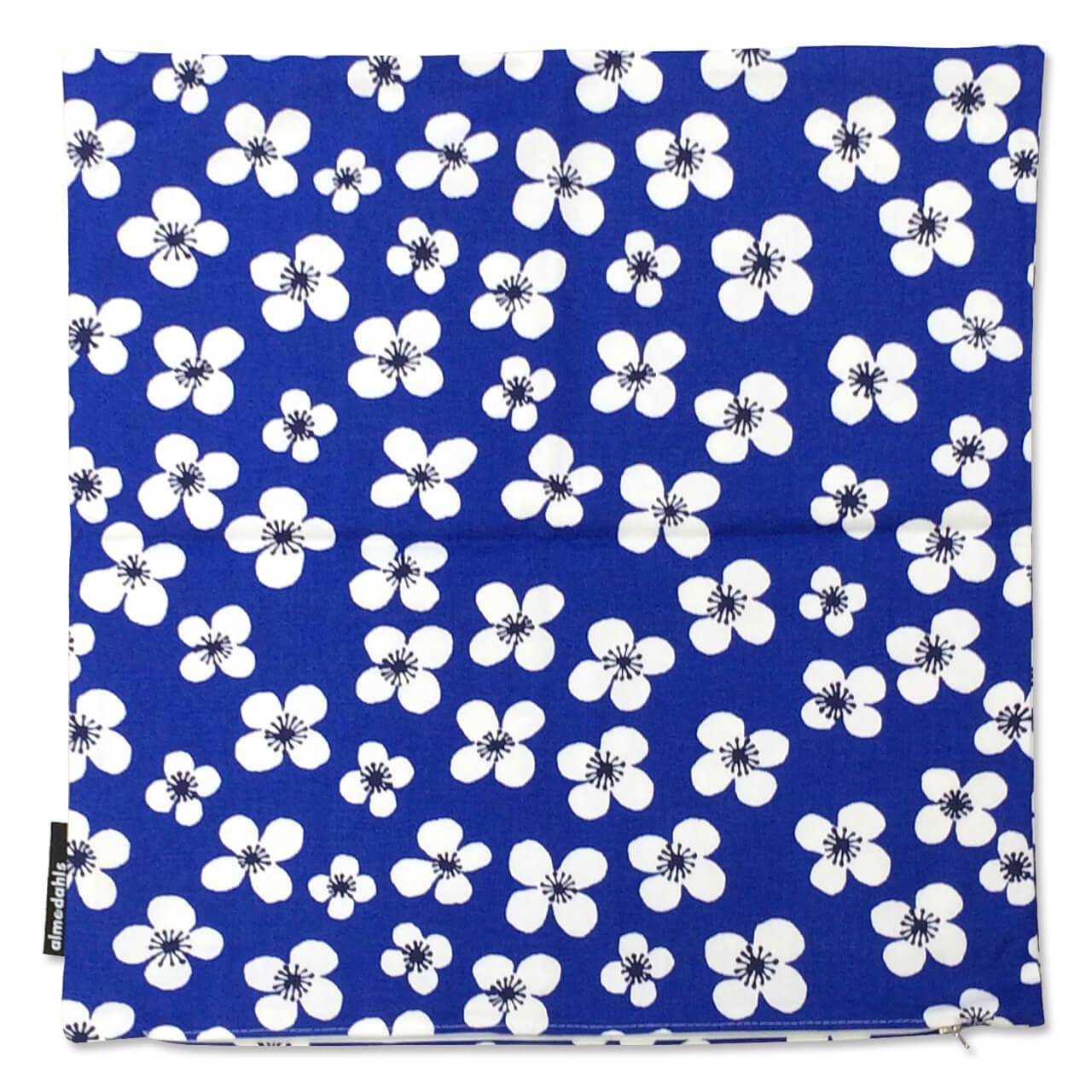 クッションカバー Belle Amie ブルー 約45×45cm