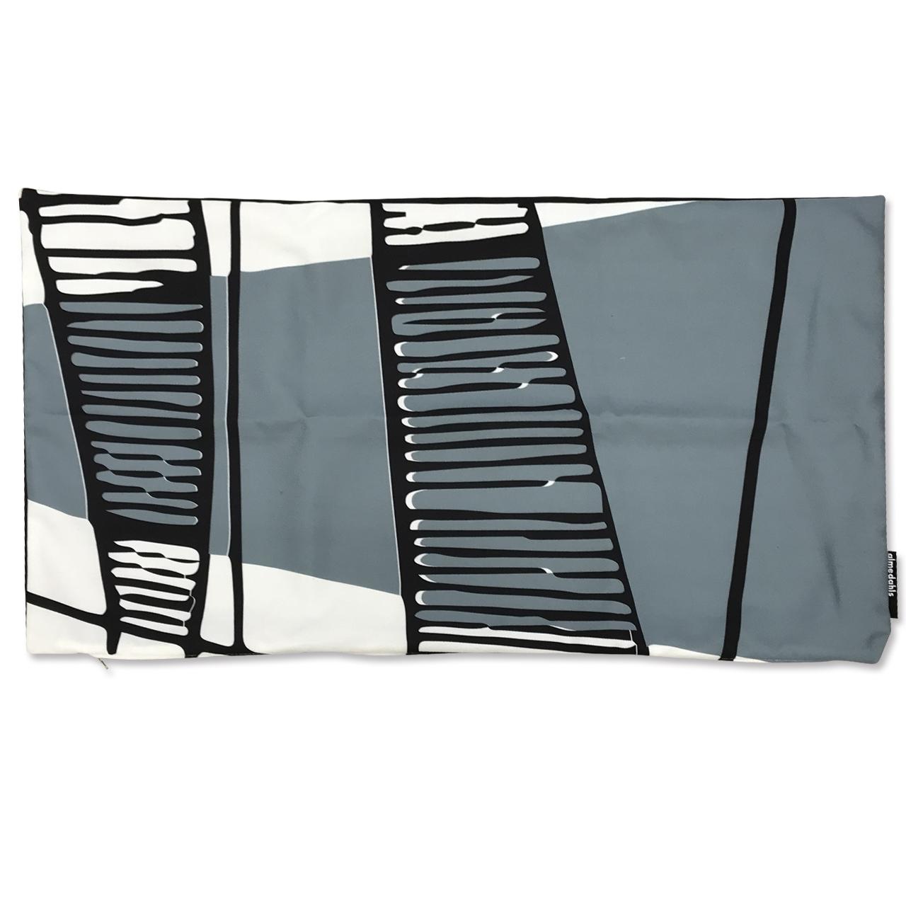 クッションカバー Picknick Elements ブルー 約70×40cm