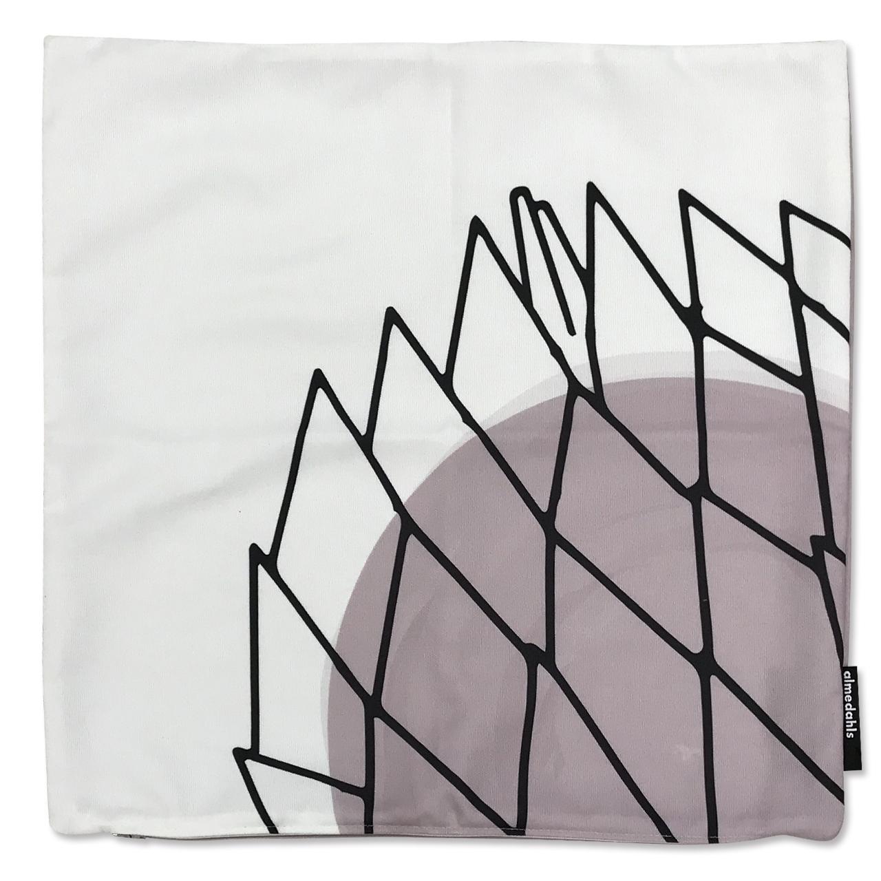 クッションカバー Picknick Elements ピンク 約45×45cm
