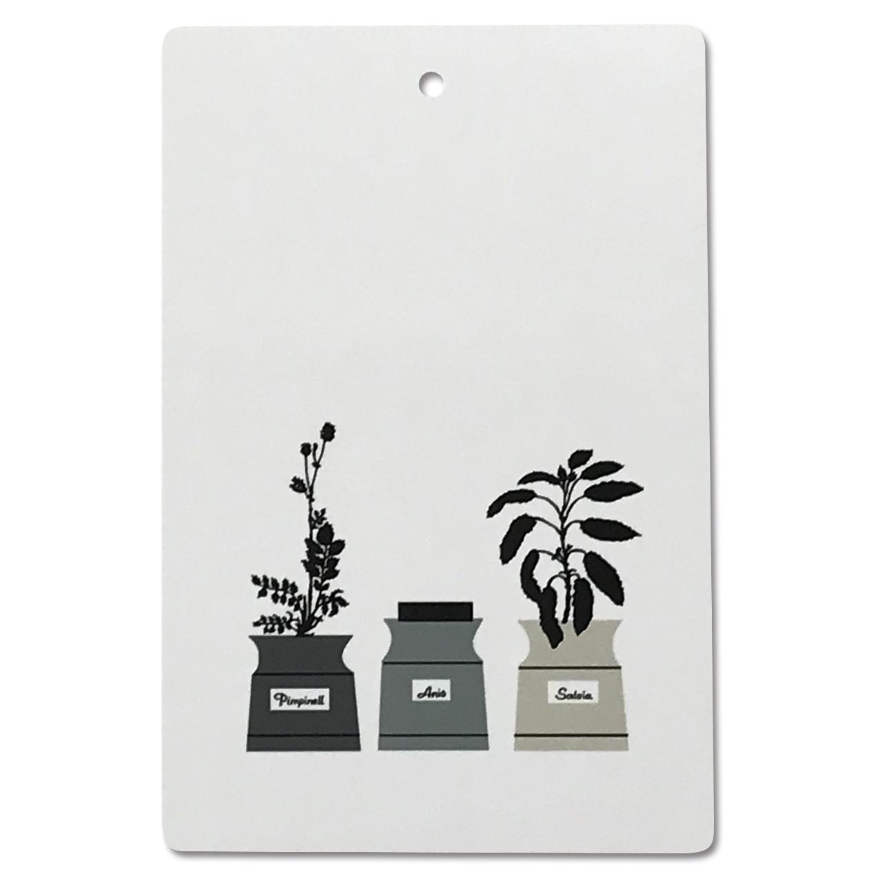 カッティングボード Persons kryddskåp 30×20cm グリーン/グレー